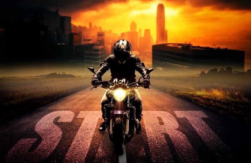 test casque moto
