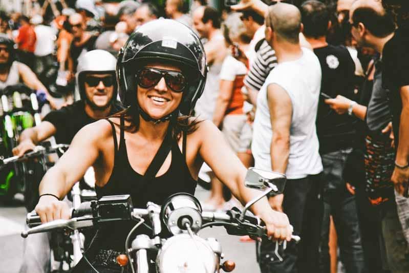 achat casque moto femme