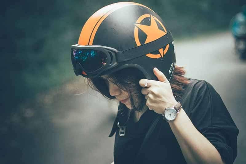 avis casque moto femme