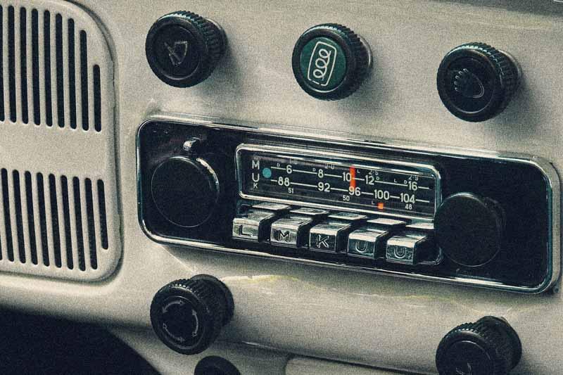 achat poste radio voiture