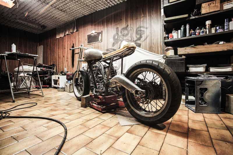 test table elevatrice moto