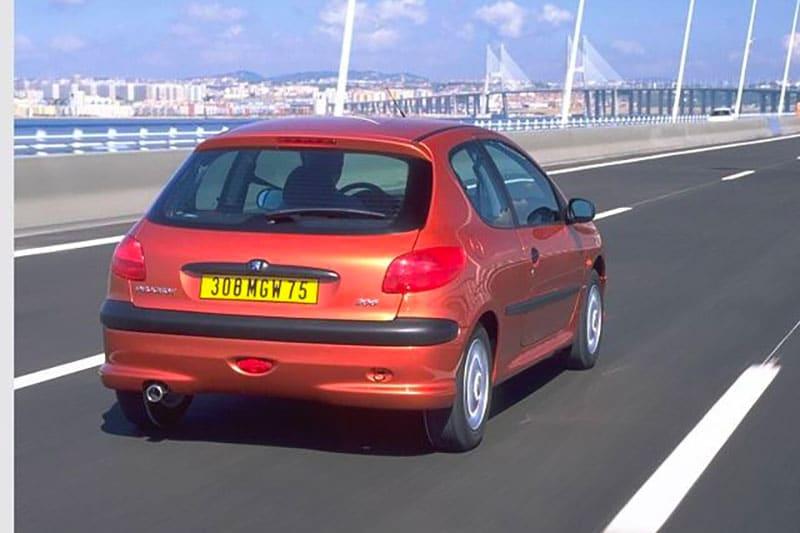 Peugeot 206 pression pneu