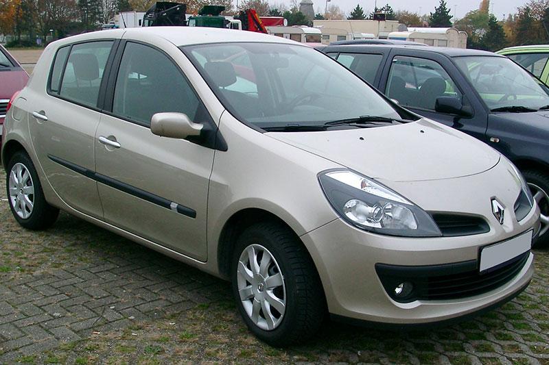 Renault Clio 3 pression pneu