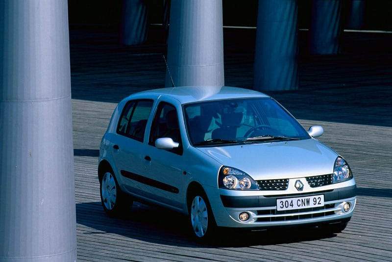 Renault clio 2 pression pneu