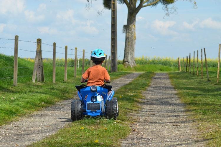 choisir quad selon age enfant